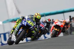 Valentino Rossi, Jorge Lorenzo, Yamaha Factory Racing e Dani Pedrosa, Repsol Honda Team