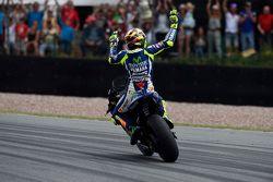 Terceiro colocado Valentino Rossi, Yamaha Factory Racing