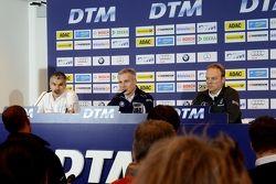 Дитер Гасс (Audi), Йенс Марквардт (BMW) и Ульрих Фриц (Mercedes)