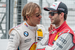 Augusto Farfus, BMW Team RBM BMW M4 DTM and Mike Rockenfeller, Audi Sport Team Phoenix Audi RS 5 DTM