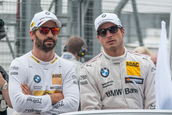 Timo Glock and Bruno Spengler, BMW Team MTEK BMW M4 DTM