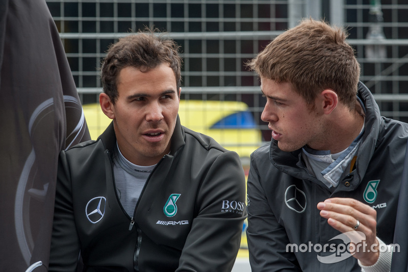 Robert Wickens and Paul Di Resta, HWA AG Mercedes-AMG C63 DTM