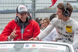 Edoardo Mortara et Adrien Tambay, Audi Sport Team Abt Audi RS 5 DTM