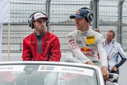 Miguel Molina et Mattias Ekström, Audi Sport Team Abt Sportsline Audi RS 5 DTM