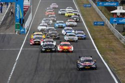 Départ : Antonio Felix da Costa, BMW Team Schnitzer BMW M4 DTM mène