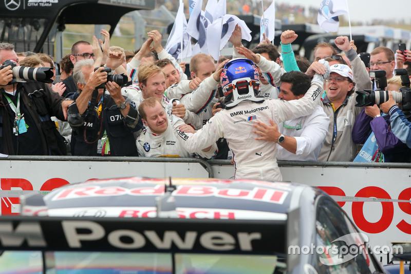 Победитель: Антониу Феликс да Кошта, BMW Team Schnitzer BMW M4 DTM