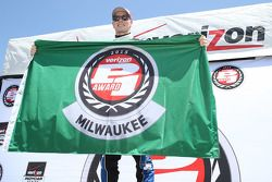 Le poleman Josef Newgarden, CFH Racing Chevrolet