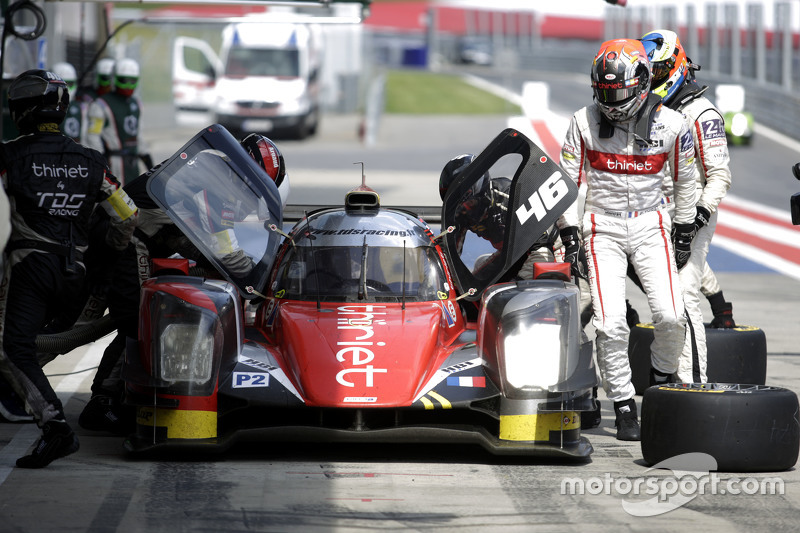 #46 Thiriet by TDS Racing Oreca 05 - Nissan: Pierre Thiriet, Ludovic Badey, Tristan Gommendy