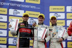 GTC podium: segundo lugar, Eric Dermont, Franck Perera, Dino Lunardi