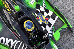 Race winner Sébastien Bourdais, KV Racing Technology Chevrolet