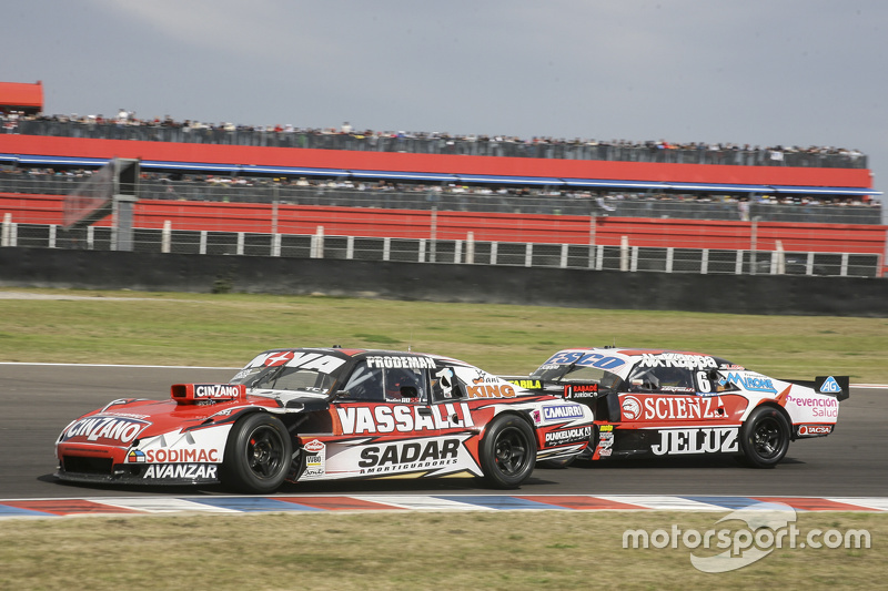 Matias Rossi, Donto Racing Chevrolet, dan Guillermo Ortelli, JP Racing Chevrolet