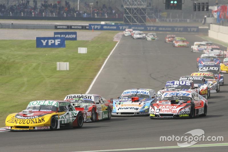 Nicolas Bonelli, Bonelli Competicion Ford, dan Mariano Altuna, Altuna Competicion Chevrolet, dan Guillermo Ortelli, JP Racing Chevrolet, dan Martin Ponte, RUS Nero53 Racing Dodge