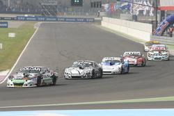 Gaston Mazzacane, Coiro Dole Racing Chevrolet and Laureano Campanera, Donto Racing Chevrolet and Fed