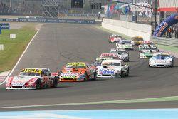 Juan Manuel Silva, Catalan Magni Motorsport Ford and Jonatan Castellano, Castellano Power Team Dodge