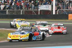 Luis Jose di Palma, Inde car Racing Torino and Matias Rossi, Donto Racing Chevrolet and Norberto Fon