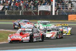 Matias Rossi, Donto Racing Chevrolet and Norberto Fontana, Laboritto Jrs Torino and Mauricio Lambiri