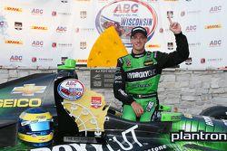 Il vincitore Sébastien Bourdais, KV Racing Technology Chevrolet