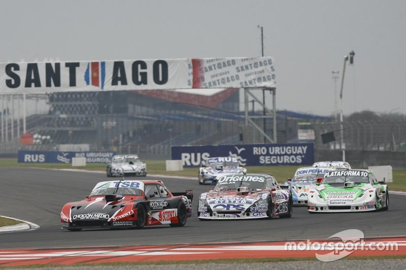 Jose Manuel Urcera, JP Racing Torino and Camilo Echevarria, Coiro Dole Racing Torino and Santiago Ma