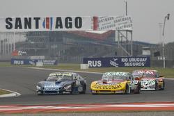 Diego de Carlo, JC Competicion Chevrolet; Nicolas Bonelli, Bonelli Competicion Ford e Juan Pablo Gia