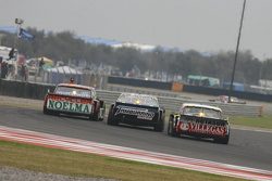 Pedro Gentile, JP Racing Chevrolet; Diego de Carlo, JC Competicion Chevrolet e Juan Pablo Gianini, J