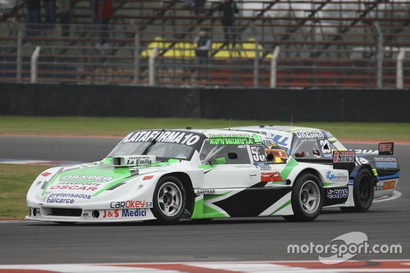 Santiago Mangoni, Laboritto Jrs Torino and Martin Ponte, RUS Nero53 Racing Dodge