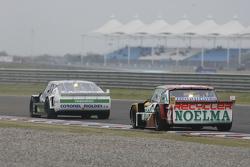 Laureano Campanera, Donto Racing Chevrolet and Pedro Gentile, JP Racing Chevrolet