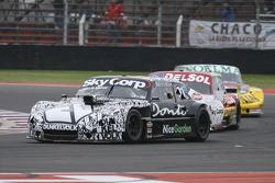 Laureano Campanera, Donto Racing Chevrolet and Juan Pablo Gianini, JPG Racing Ford and Pedro Gentile
