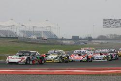 Jose Manuel Urcera, JP Racing Torino y Omar Martinez, Martinez Competicion Ford y Guillermo Ortelli,