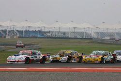 Matias Jalaf, Alifraco Sport Ford; Leonel Pernia, Las Toscas Racing Chevrolet e Nicolas Bonelli, Bon