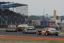 Emanuel Moriatis, Alifraco Sport Ford e Leonel Pernia, Las Toscas Racing Chevrolet; Nicolas Bonelli,