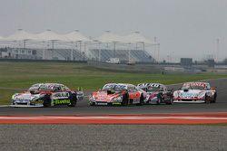 Juan Martin Trucco, JMT Motorsport Dodge; Guillermo Ortelli, JP Racing Chevrolet; Emanuel Moriatis,