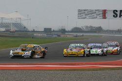 Leonel Pernia, Las Toscas Racing Chevrolet; Nicolas Bonelli, Bonelli Competicion Ford; Mathias Noles