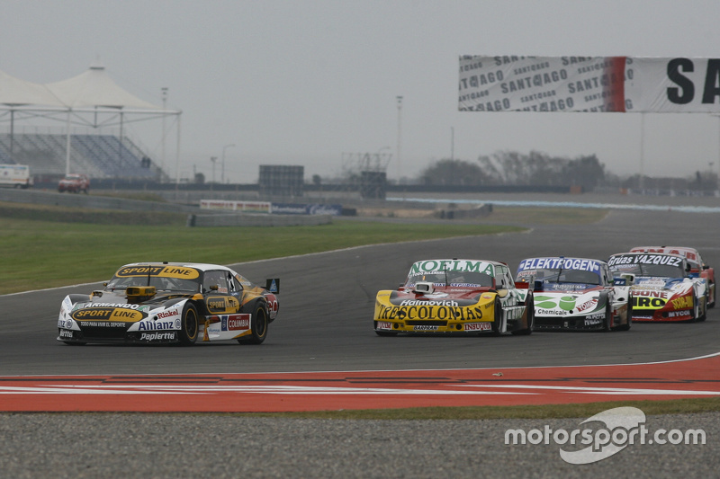 Leonel Pernia, Las Toscas Racing Chevrolet and Nicolas Bonelli, Bonelli Competicion Ford and Mathias