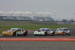 Nicolas Bonelli, Bonelli Competicion Ford; Mathias Nolesi, Nolesi Competicion Ford; Lionel Ugalde ,