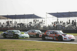 Mariano Werner, Werner Competicion Ford and Facundo Ardusso, Trotta Competicion Dodge and Agustin Canapino, Jet Racing Chevrolet