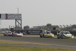 Omar Martinez, Martinez Competicion Ford and Luis Jose di Palma, Inde car Racing Torino and Norberto