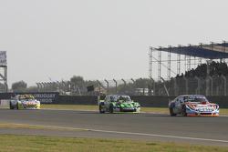 Christian Lede sma, Jet Racing Chevrolet; Mauro Giallombardo, Maquin Parts Racing Ford e Mauricio L