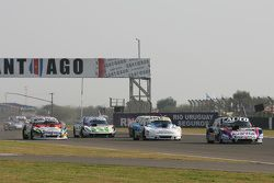 Emanuel Moriatis, Alifraco Sport Ford; Federico Alonso, Taco Competicion Torino; Mathias Nolesi, No