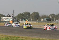 Juan Manuel Silva, Catalan Magni Motorsport Ford and Mauricio Lambiris, Coiro Dole Racing Torino; Le