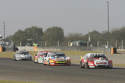 Pedro Gentile, JP Racing Chevrolet and Lionel Ugalde , Ugalde Competicion Ford and Juan Pablo Gianin