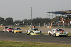 Juan Marcos Angelini, UR Racing Dodge and Omar Martinez, Martinez Competicion Ford and Luis Jose di