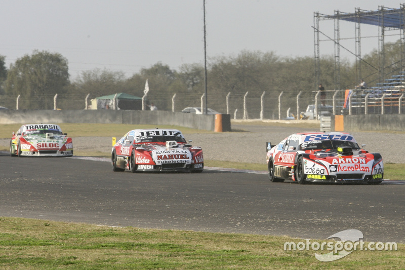 Guillermo Ortelli, JP Racing Chevrolet and Pedro Gentile, JP Racing Chevrolet and Mariano Altuna, Al