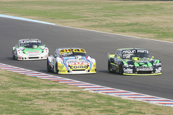 Mauro Giallombardo, Maquin Parts Racing Ford; Mauricio Lambiris, Coiro Dole Racing Torino e Santiago