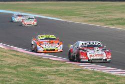 Pedro Gentile, JP Racing Chevrolet y Jonatan Castellano, Castellano Power Team Dodge y Mariano Altun