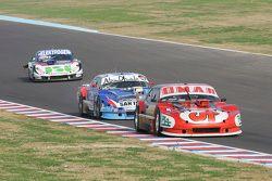 Christian Dose, Dose Competicion Chevrolet y Matias Rodriguez, UR Racing Dodge y Mathias Nolesi, Nol
