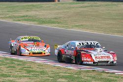 Pedro Gentile, JP Racing Chevrolet and Jonatan Castellano, Castellano Power Team Dodge