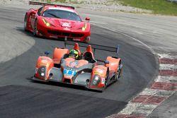 #11 RSR Racing Oreca FLM09 Chevrolet : Chris Cumming, Bruno Junqueira, Gustavo Menezes