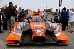 #60 Michael Shank Racing with Curb/Agajanian Ligier JS P2 Honda : John Pew, Oswaldo Negri