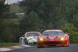 #62 Risi Competizione Ferrari F458 : Pierre Kaffer, Giancarlo Fisichella, Olivier Beretta