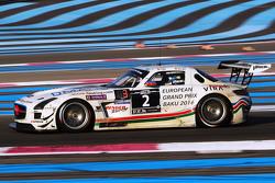 #2 HP Racing Mercedes SLS AMG GT3: Hari Proczyk, Jeroen Bleekemolen, Reinhold Renger, Carsten Tilke,
